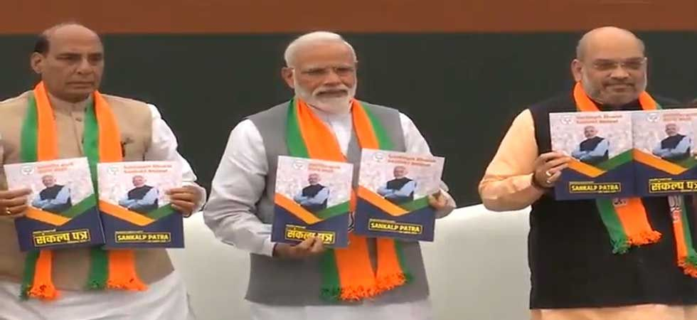 BJP president Amit Shah will release the party's manifesto for 2019 Lok Sabha elections. (PTI Photo)