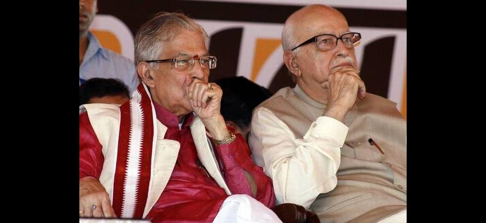 Murli Manohar Joshi and Lal Krishna Advani (File Photo)