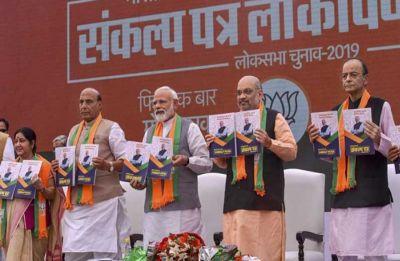 'Commit crime against women': Blooper in BJP's manifesto gives fodder to opposition