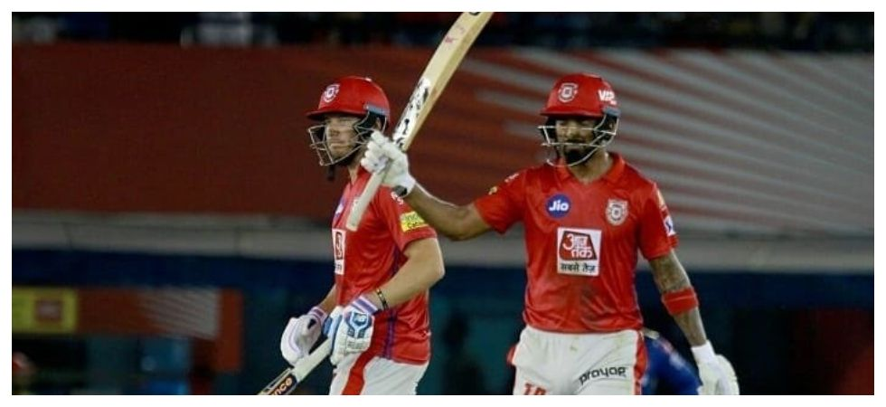 KL Rahul's third fifty in four games gave Kings XI Punjab a thrilling win against Sunrisers Hyderabad and it propelled them to third spot in the table. (Image credit: Twitter)