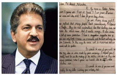 11-year-old has 'request' as well as 'advice' for Anand Mahindra, know THEM