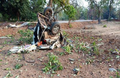 BJP MLA Bhima Mandavi, four security personnel killed in Maoists' IED attack in Chhattisgarh's Dantewada