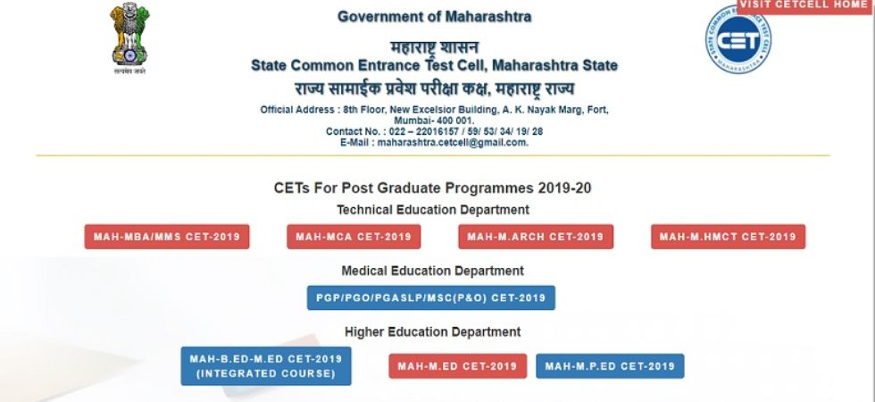 MAH-LLB (5 Year) CET 2019 hall tickets out at cetcell.mahacet.org