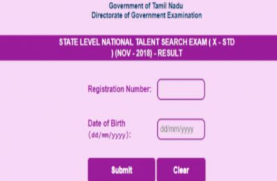 NTSE Tamil Nadu 2018 Stage 1 result declared at dge.tn.gov.in; stage 2 to be held on June 16