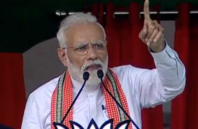 If I returned to power, corruption will stop, dynastic politics will end: Modi in Bihar's Bhagalpur