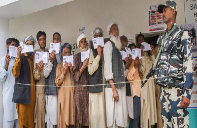 Amid allegations of EMV malfunction, J-K records over 55 per cent voter turnout