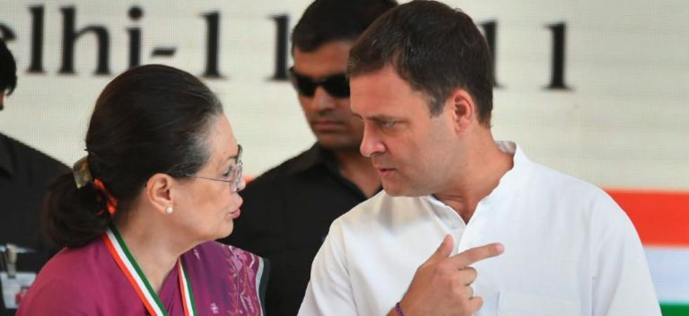 Congress president Rahul Gandhi and UPA chairperson Sonia Gandhi (File Photo)