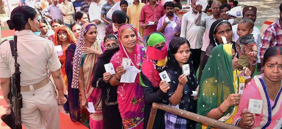 Long queues of voters were seen outside the several polling stations. (File Photo: PTI)