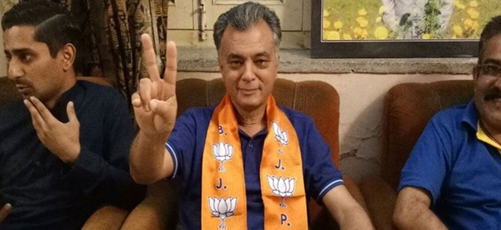 Anil Sharma has not resigned either from the the state Assembly or from the BJP. (Image Credit: ANI)