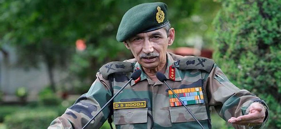 Lieutenant General (retired) DS Hooda (PTI/file)