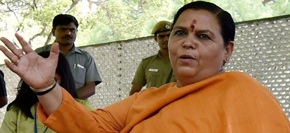 Uma Bharti has conveyed to the BJP leadership her wish to not contest the general elections. (File Photo: PTI)