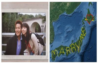 WATCH | Japanese man travels 7,000 km JUST to draw 'Marry Me' on Google Earth for girlfriend