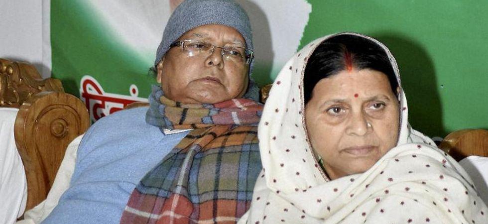 Lalu Prasad Yadav and Rabri Devi (File Photo)
