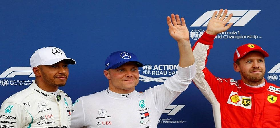 Valtteri Bottas secured pole position for the Chinese Grand Prix which will be the 1000th race in Formula One history. (Image credit: Twitter)