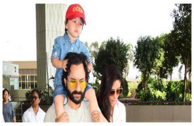 'Bas karo yaar, bachcha andha ho jaayega': Saif Ali Khan to paparazzi clicking Taimur