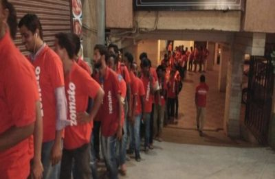 Zomato delivery boys are queuing up outside this restaurant in Hyderabad, see why