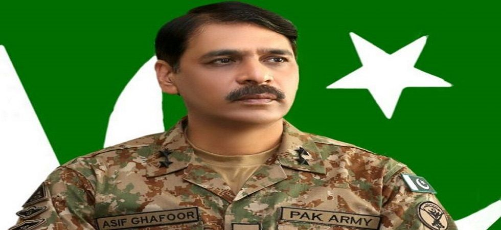 Pakistan army spokesman Major General Asif Ghafoor