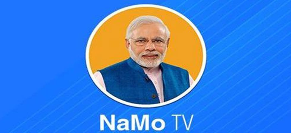 The Delhi CEO approved the logo of NaMo TV, which the BJP said was part of the NaMo App that it owns. (Screengrab)