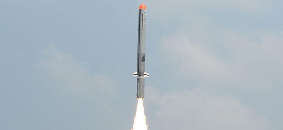 India on Monday successfully test fired India's 1,000 km strike range sub-sonic cruise missile from Odisha coast