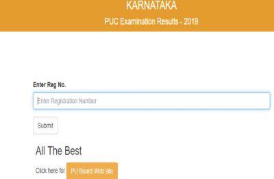 Karnataka 2nd PUC Results 2019 declared by KSEEB, girls outshine boys
