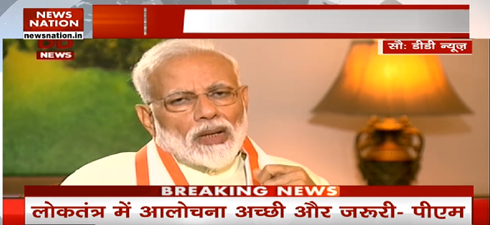 PM Modi Interview LIVE: 'Criticism is good, but only baseless charges levelled against me'