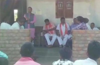 PM Modi has installed cameras at polling booths, claims Gujarat BJP MLA, threatens voters