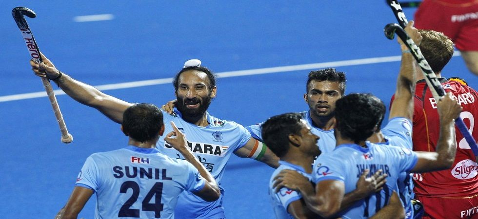 The India men's hockey team pulled out of the inaugural edition of the FIH Pro League tournament. (Image credit: Twitter)