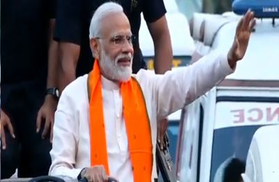 This Chowkidar will save you from conspiracy of Congress: Modi in Bhubaneswar