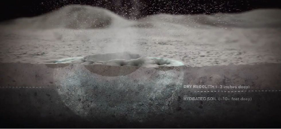NASA study finds Moon releases more water that you think ...
