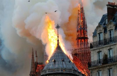 Colossal fire ravages Paris' Notre-Dame but main structure 'saved and preserved' | Latest Updates