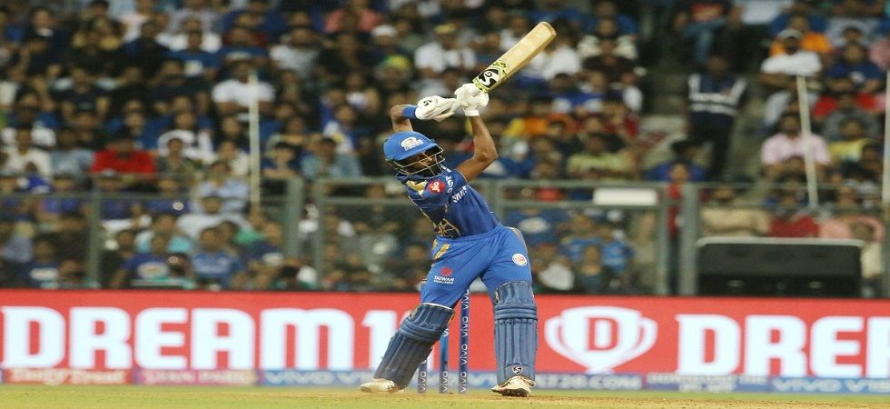 Hardik Pandya has had a strike-rate of over 190 in the 2019 Indian Premier League for Mumbai Indians. (Image credit: Twitter)