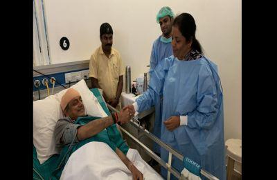 Civility a rare virtue in politics, says Shashi Tharoor after Nirmala Sitharaman visits him at hospital