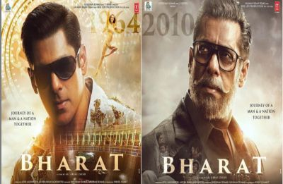 Salman Khan reveals his 'Jawaani' avatar in new poster of Bharat but Disha Patani's 60's charm steals the show
