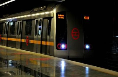 Delhi Metro: With saree stuck in train door, woman gets dragged on platform