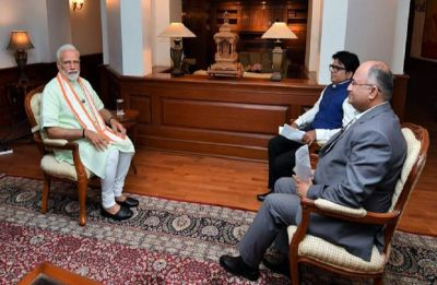 Nationalism, martyrdom of soldiers as much a poll issue as farmer deaths: PM Modi