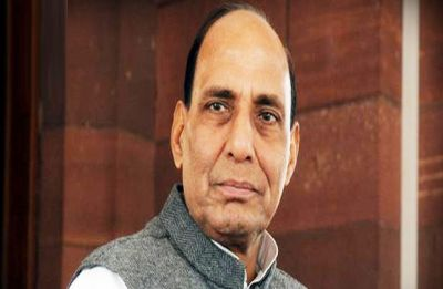 After mega road show, Rajnath Singh files nomination from Lucknow | HIGHLIGHTS