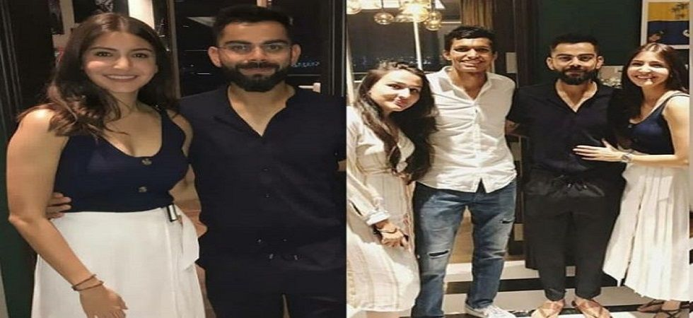 Virat Kohli-Anushka Sharma hosted a dinner for RCB players (Image Credit: Twitter)