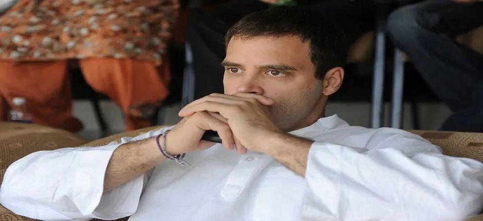 Congress presidents Rahul Gandhi (File Photo)
