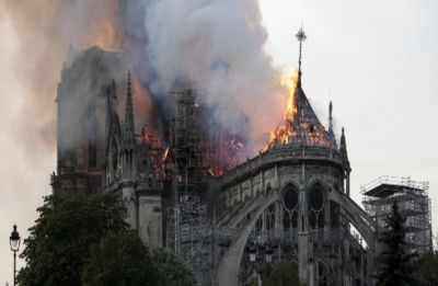 After devastating inferno, Emmanuel Macron vows to rebuild a 'more beautiful' Notre-Dame in 5 years
