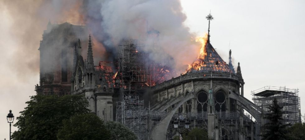 France launches global contest to replace Notre-Dame spire (Twitter)
