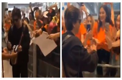 WATCH | Shah Rukh Khan gets warm welcome in China ahead of Zero Screening