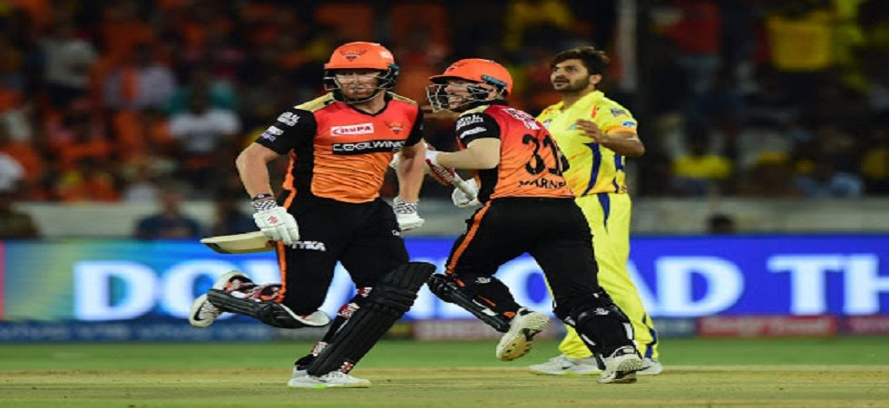 Sunrisers Hyderabad registered their third win in 11 encounters against Chennai Super Kings, who had rested MS Dhoni. (Image credit: PTI)
