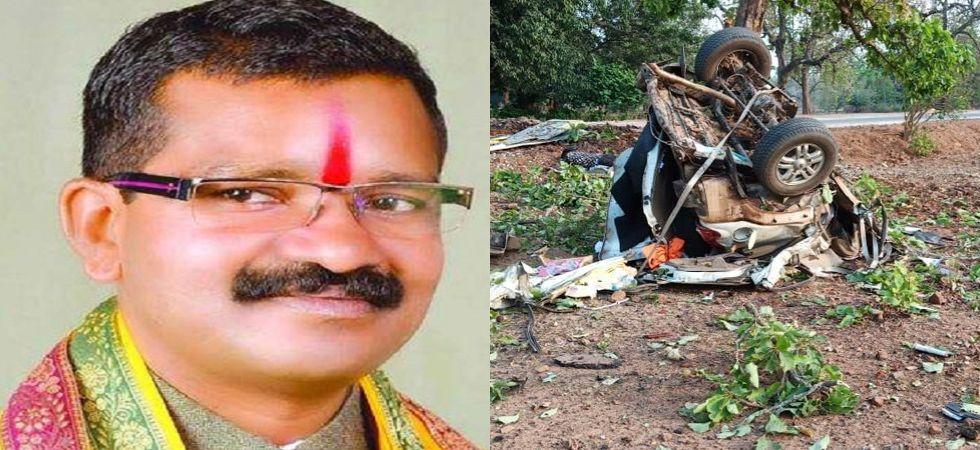 The incident occurred at Shyamagiri hills when Bhima Mandavi's convoy was heading towards Kuwakonda from Bacheli area. (File photo)