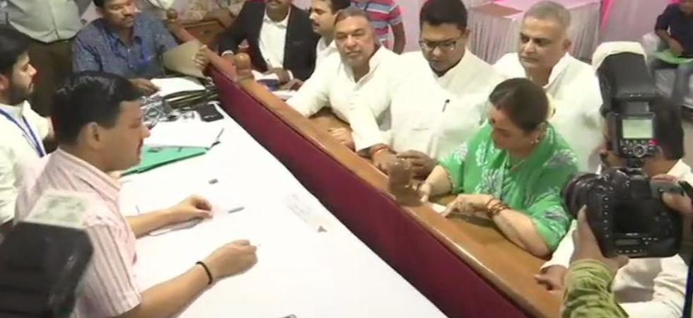 Poonam Sinha, Shatrughan Sinha's wife and Samajwadi Party leader, files nomination from Lucknow