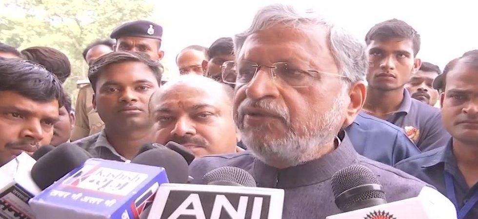 Bihar Deputy Chief Minister Sushil Modi (ANI Photo)