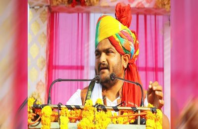 WATCH | Hardik Patel slapped during public rally in Gujarat's Surendranagar