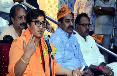 Complaint filed against BJP Bhopal candidate Pragya Thakur over her remarks on 26/11 martyr Hemant Karkare
