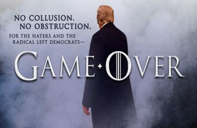 'Game Over': Trump again taps 'GoT,' this time in Russia saga