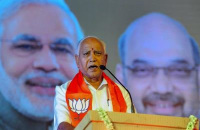 Yeddyurappa mocks HD Deve Gowda: Someone who is contesting on 7 seats dreaming of being PM's adviser