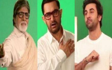 Amitabh Bachchan , Aamir Khan, Ranbir Kapoor comes together